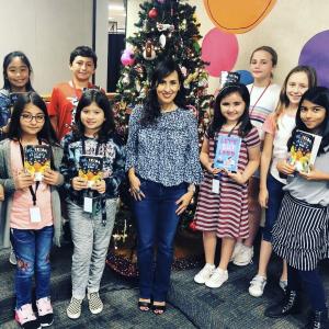 School Visits Youth Angela Cervantes Latino Author